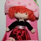 "2003 Bandai Strawberry Shortcake Berry Soft Friends Plush Doll 10""H"
