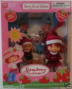 2003 Strawberry Shortcake Berry Sweet Sisters Holiday Sisters Apple Dumplin