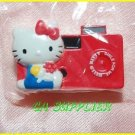 2005 Sanrio Bandai Retro Collection MINI Hello Kitty Magnet #8 Red Camera