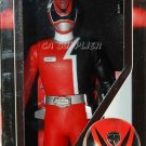 "Bandai SPD Police Dekaranger Sentai Hero Series RED Figure 6""H w/ Card"