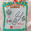2001 McDonald's Happy Meal Toy Ronald Wizard - Apple Pie Wizmo Ronald