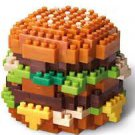 2015 McDonald's Food Icons x Nanoblock Display Toy - Big Mac