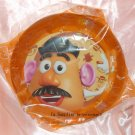 "Disney Pixar Toy Story 3 Mr. Potato - 8"" Round Brown Plastic Plate"