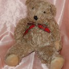 "Helzberg Diamonds Light Brown Teddy Bear Soft Plush Doll 16"" H"
