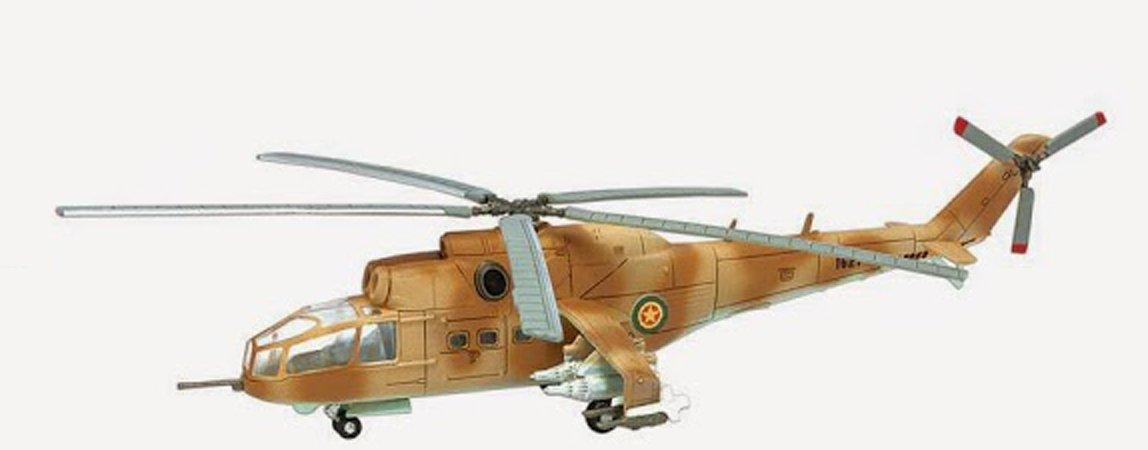 F Toys 1/144 Heliborne 6 Mi-24A Ethiopia Air Force Army #3b