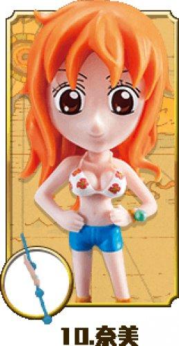 "2015 7-11 One Piece Figure w/ Prop- Nami 3.5""H"