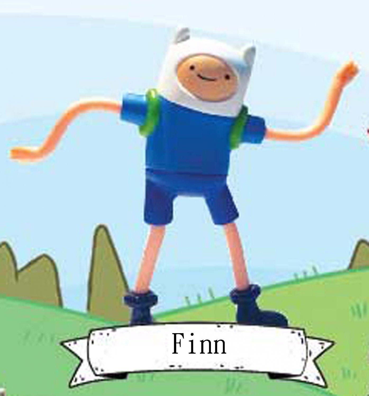 2016 McDonald's Cartoon Network Happy Meal Toy Adventure Time Figure - Finn