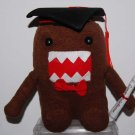 "Graduate Brown Domo Kun Soft Stuffed Plush 7.5""H"