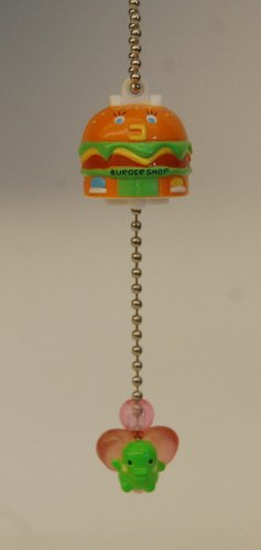 Bandai Tamagotchi Gashapon Capsule Toy Double Figure Key Chain - Kuchipatchi Burger Shop