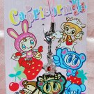 "Japan Brand Angel Blue Metal Plate Figure Strap Charm Mascot ""Envelop w/ Star"""