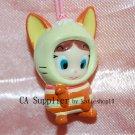 "Yujin The Genie Family Hakuhson 1""H Plastic Figure Strap Charm Mascot #2"