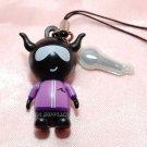 "2009 Bandai PVC Hard Figure w/ Mic Cell Phone Charm Strap Mascot Gashapon Capsule Toy 1.5"" L #2"