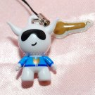 2009 Bandai PVC Hard Figure w/ Mic Movable Hands Head Charm Strap Mascot Gashapon Capsule Toy #6