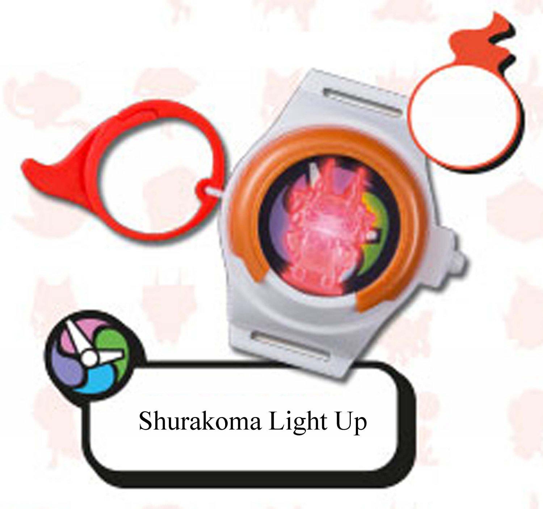 2016 McDonald's Happy Meal Toy Yo - Kai Watch Key Ring - Shurakoma Light Up