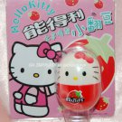 "2004 Sanrio Frutips Hello Kitty Red Strawberry Fruit Tumbler 1.5""H"