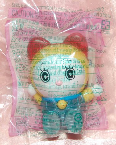 2010 McDonald's Happy Meal Toy Doraemon Dorami Space Travel w/ Stickers