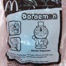 "2013 McDonald's Happy Meal Toy Gentleman Doraemon Sticker Dispenser 3.5""H"