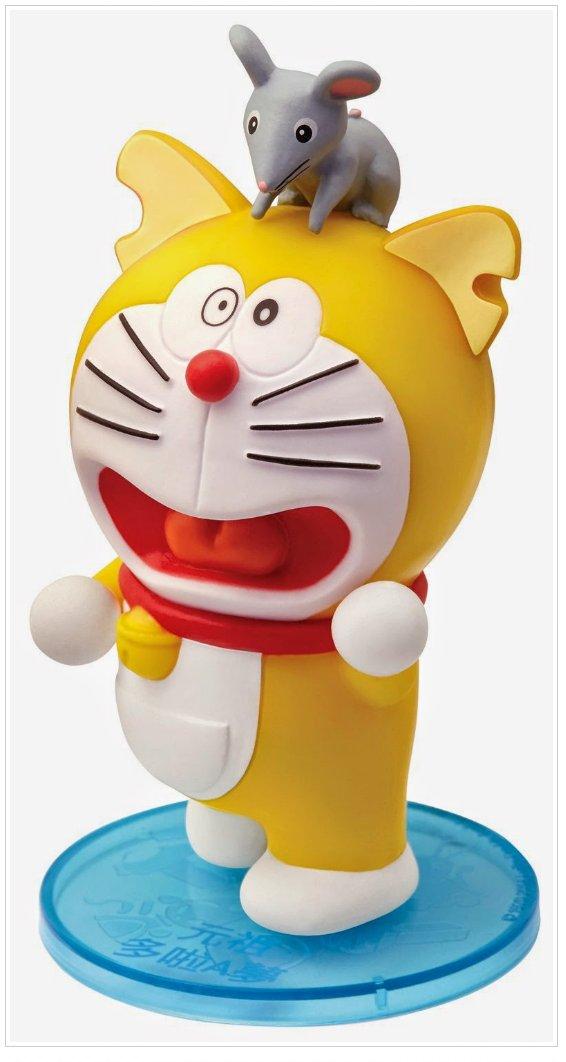 "2014 7-11 Doraemon & Friends Future Popup Store Figure 3"" H - Doraemon (07)"