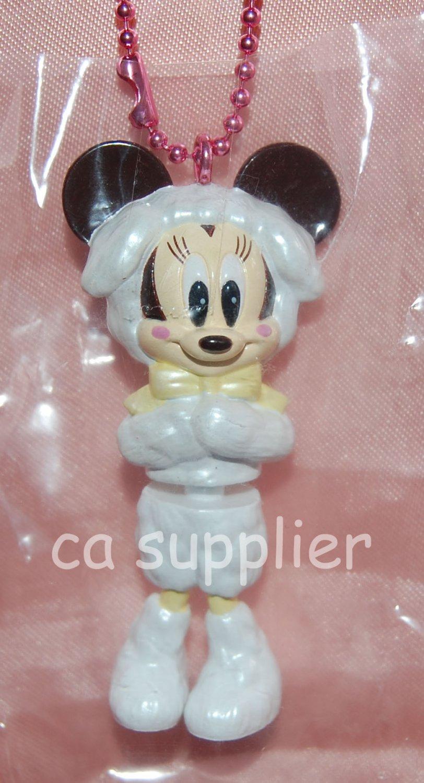 "Yujin Disney Mickey Mouse Minnie ""Minnie Up"" Key Chain Mascot Gashapon Capsule Toy 2.75""H #4"