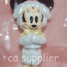 "Yujin Disney Mickey Mouse Minnie ""Minnie Up"" Key Chain Mascot Gashapon Capsule Toy 2.75""H #4"