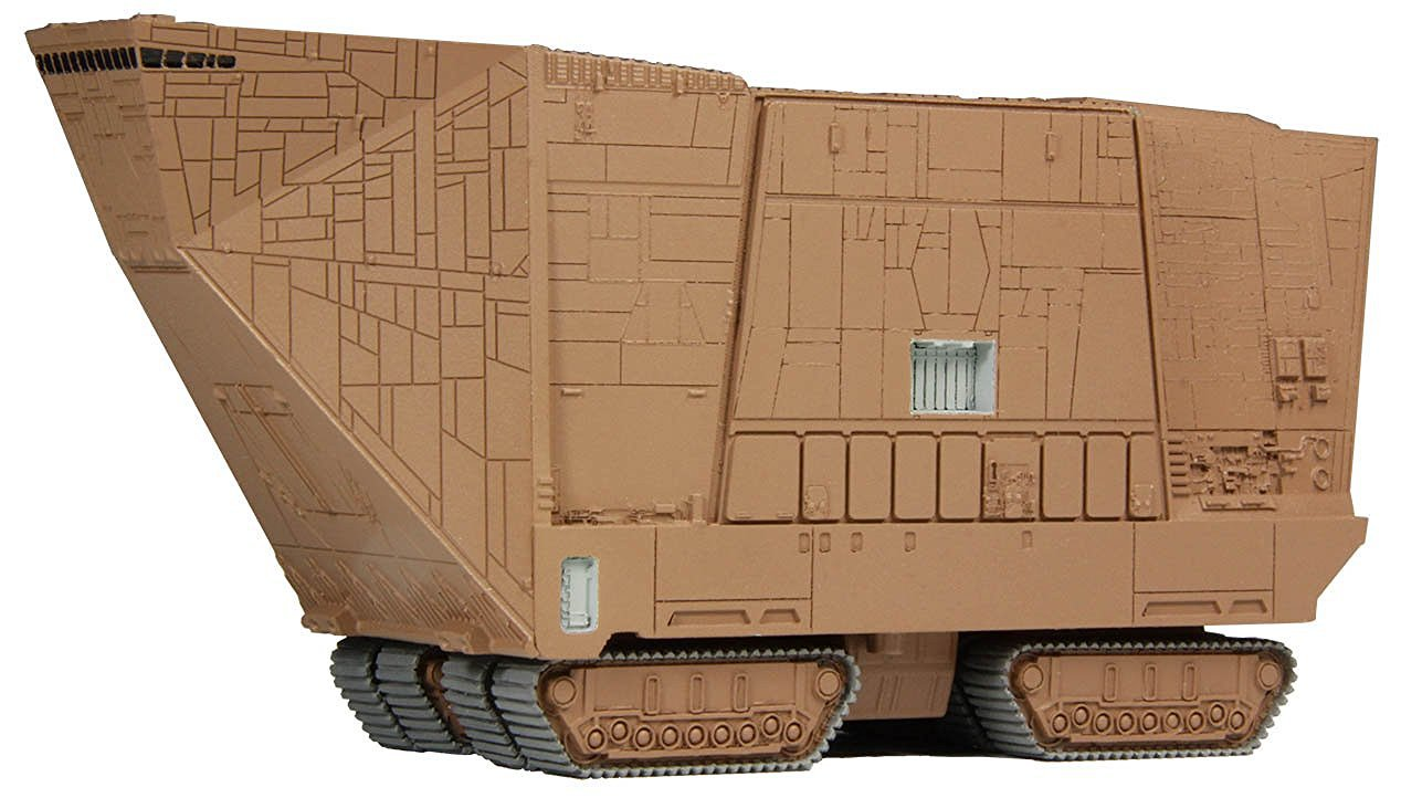F Toys Star Wars Vehicle Collection 7 Figure #2 - Sand Crawler 1/350