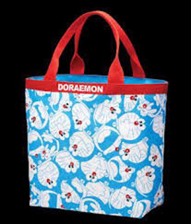Doraemon Cotton Tote Bag 28cm x 31cm x 12.5cm