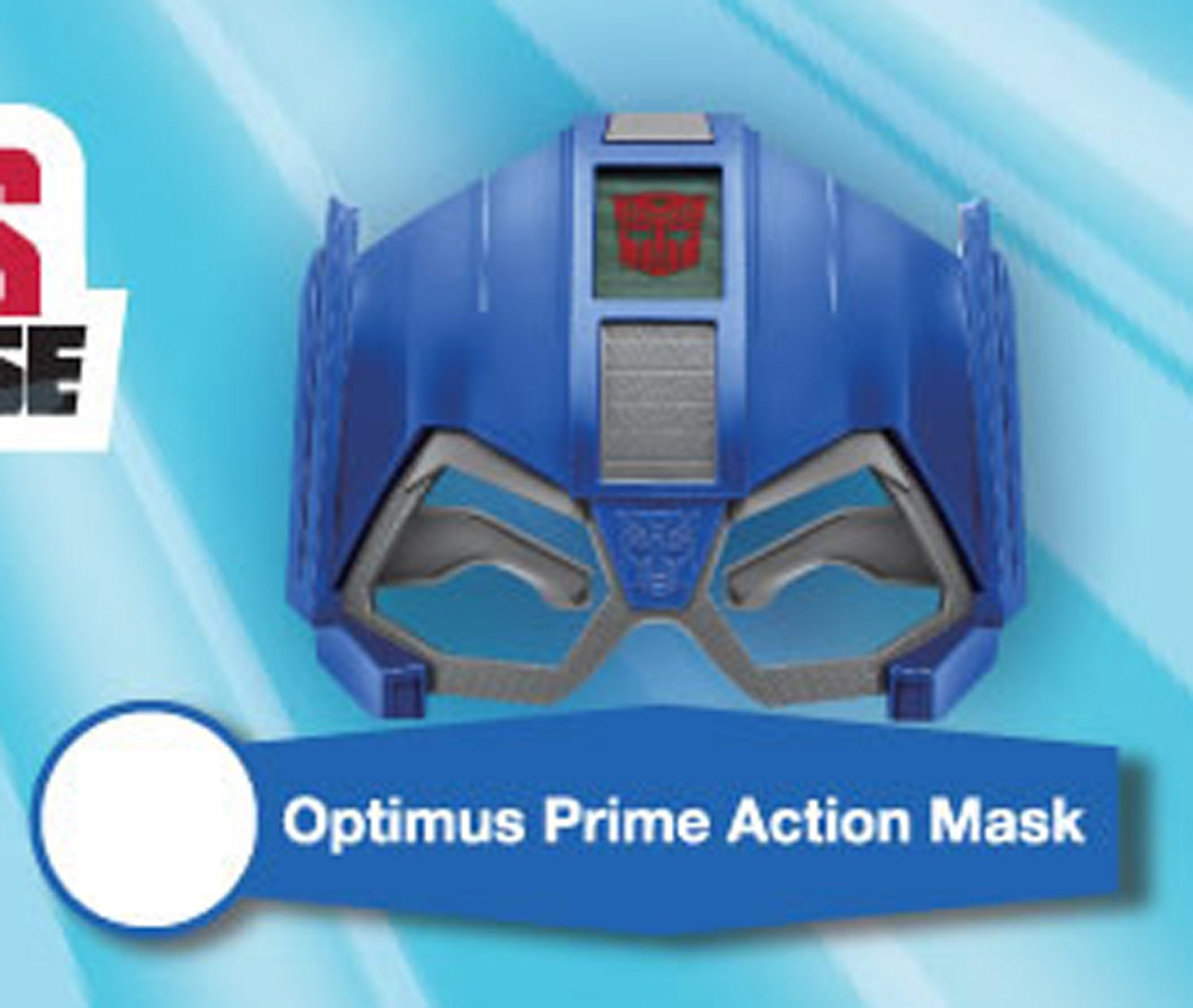 2016 McDonald's Hasbro Transformers Robots in Disguise - Optimus Prime Action Mask
