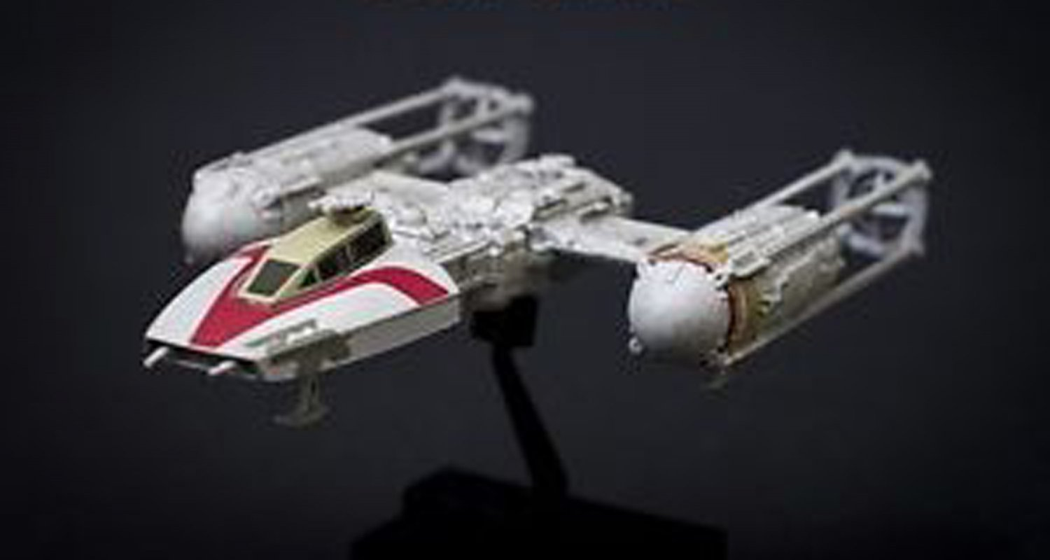 F Toys Star Wars Vehicle Collection 7 Figure #SP Y - Wing Starfighter 1/144