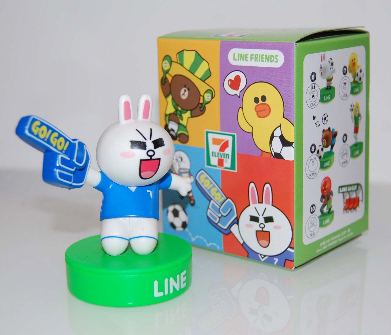 7-11 Line Friends No.2 Cony Figure Stamper - Smart Clever