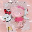 Sanrio McDonald's Hello Kitty Pink KittyBrick Figure Phone Strap Charm