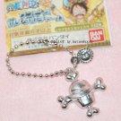 Bandai One Piece WHITWBEARD Metal Keychain Charm Gashapon Capsule