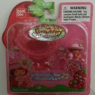"2003 Bandai Strawberry Shortcake Berry Sweet Wearables Necklace ""Strawberry Scented"" #15602"