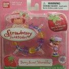 Strawberry Shortcake Berry Sweet Wearables Angel Cake Butterfly Special Bracelet Included #15565