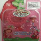 Bandai Strawberry Shortcake Berry Sweet Wearables Necklace Strawberry Scented #15601
