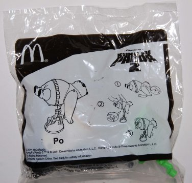 McDonald's Happy Meal Toy Kung Fu Panda 2 Figure - PO