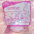 McDonald's Happy Meal Toy Pokemon Pikachu Bubble and Water Squirt