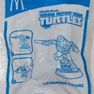 2013 McDonald's Happy Meal Toy Teenage Mutant Ninja Leonardo Figure