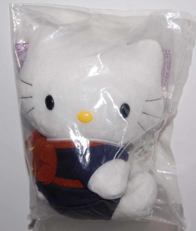 "McDonald's Sanrio Hello Kitty Uniform Dear Daniel Plush Doll 6.5"" H"