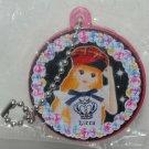"Yujin Licca Mirror Key Chain Gashapon Capsule 1.5"""