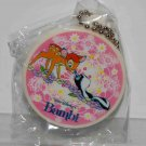 Yujin Disney Gashapon Capsule Toy Bambi Round Shape Mirror Key Chain