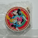 Yujin Disney Gashapon Capsule Toy Mickey Mouse Minnie Round Shape Mirror Key Chain