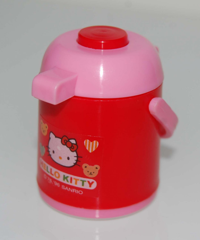 USED 1996 Sanrio Hello Kitty MINI Kithcen Appliance Toy - Hot Water Pot Made in Japan