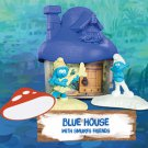 2017 McDonald's Smurfs The Lost Village - BLUE House with Smurfs Friends