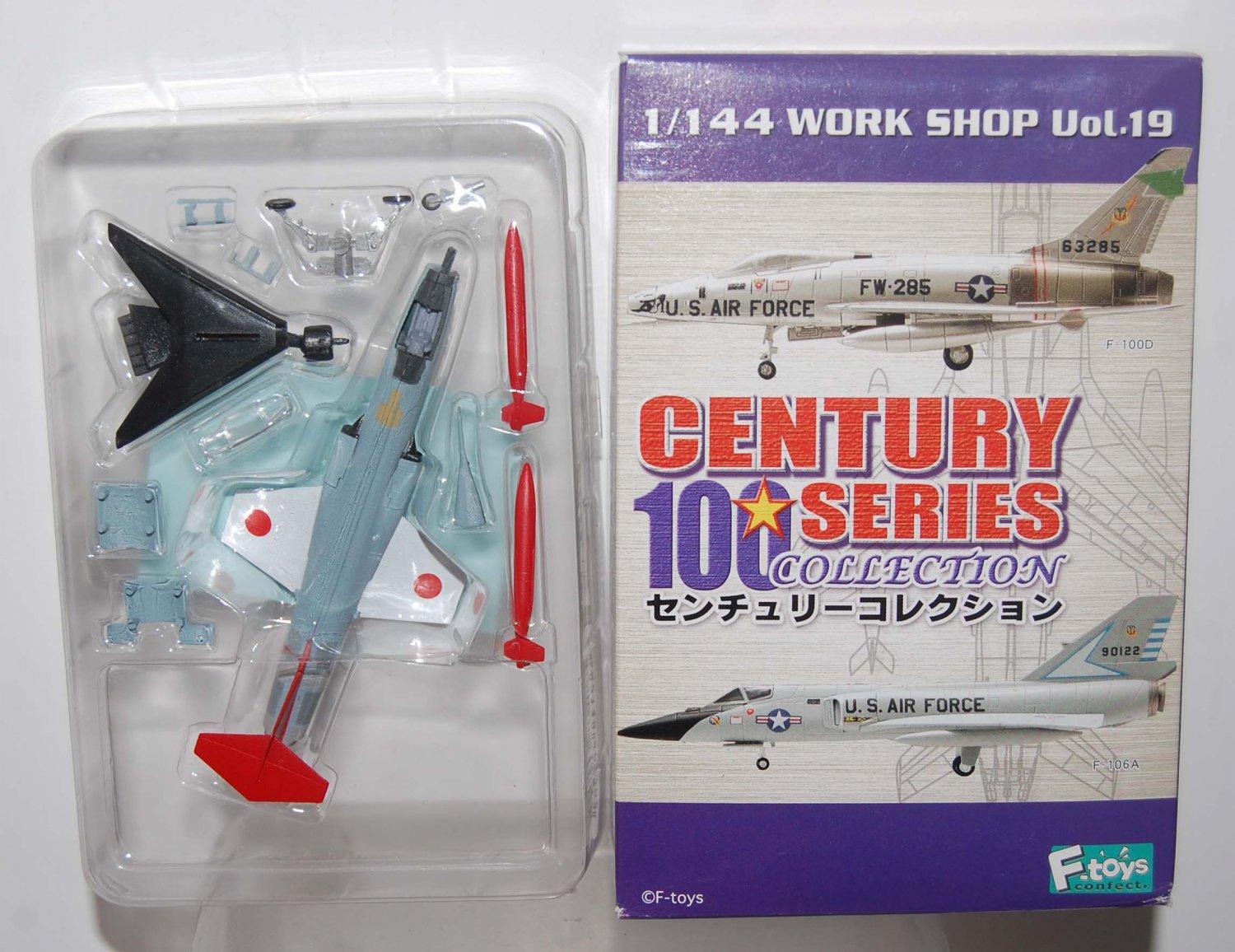 F Toys 1/144 Century 100 Aeroplane Aircraft Figure UF-104J Star Fight #4S