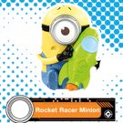 2017 McDonald's Illumination Despicable ME 3 - Rocket Racer Minion