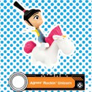 2017 McDonald's Illumination Despicable ME 3 - Agnes' Rockin' Unicorn