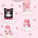 McDonald's Sanrio Kuromi My Melody FULL Set of 4 Dial Calendar Folding Mirror Pen Stand Letter Set