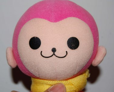 "Sega Pinky Red Jacket Yellow Scarf Plush Doll UFO Japan Catcher Prize 7""H"