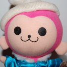 "Sega Pinky in Blue Jacket Plush Doll UFO Japan Catcher Prize 7""H"