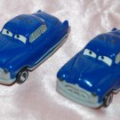 "USED Disney Pixar Nestie Cars Doc Hudson Plastic Vehicle 2-5/8"" L"